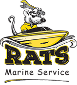 Rat's Marine Service Logo